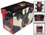 Comic Book Cardboard Storage Box with Hellboy In Hell Artwork, holds 150-175 Comics